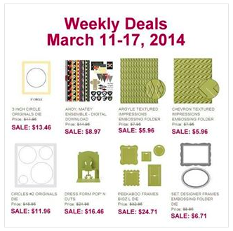 Screen Shot 2014 03 11 at 8.19.10 AM Weekly Deals!