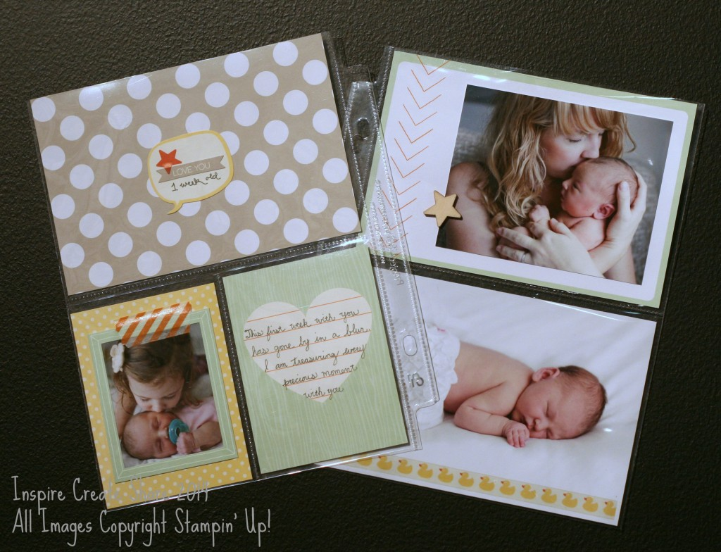 PLbaby 1024x784 Project Life by Stampin Up!