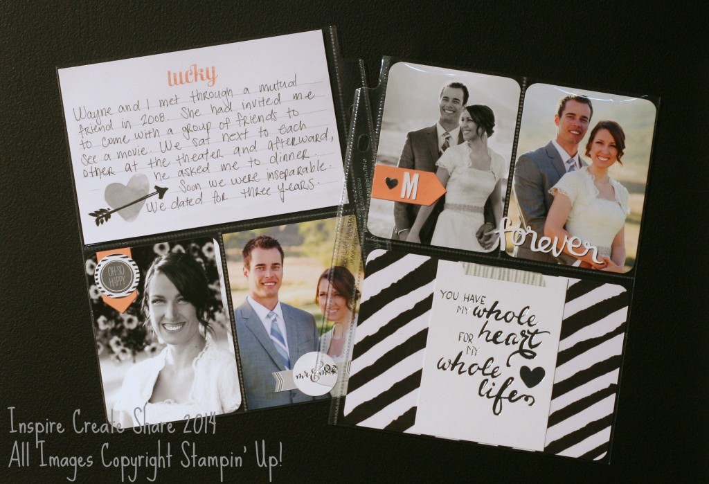 PLwedding 1024x699 Project Life by Stampin Up!